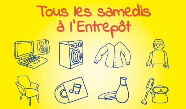 Plein d'articles à vendre pour Emmaüs à Montreuil