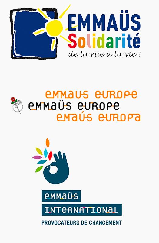 3 logos Emmauss
